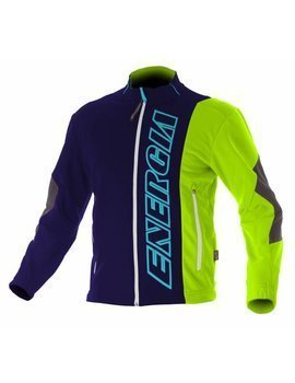 Softshell ENERGIAPURA CORTINA BLUE/GREEN JUNIOR